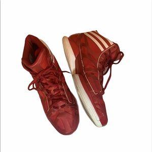 Mens 14 1/2 Basketball Adidas Frame Red High Tops